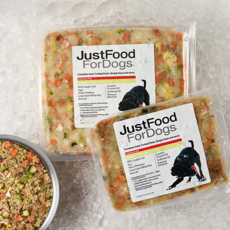 JustFoodForDogs Vet Support Diets Hepatic Support, Low Fat Frozen Dog Food