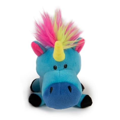 goDog Blue Unicorns Guard Plush Dog Toy