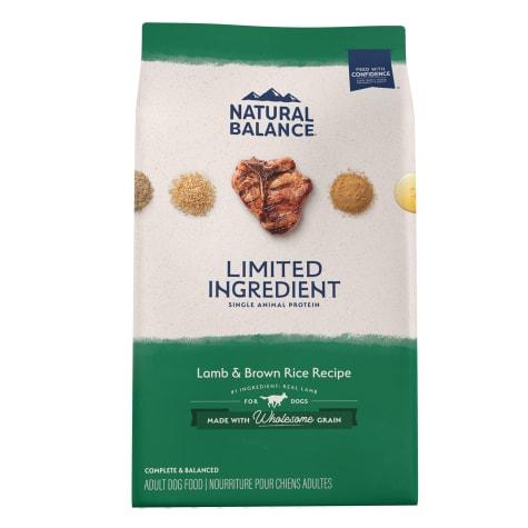 Natural Balance L.I.D. Limited Ingredient Diets Lamb & Brown Rice Formula Dry Dog Food