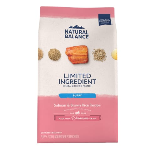 Natural Balance L.I.D. Limited Ingredient Diets Salmon & Brown Rice Formula Dry Puppy Food