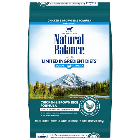 Natural Balance L.I.D. Limited Ingredient Diets Chicken & Brown Rice Formula Dry Puppy Food