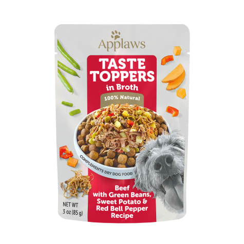 Applaws Taste Toppers Beef, Green Bean & Sweet Potato in Broth Wet Dog Food