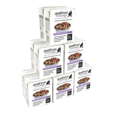 JustFoodForDogs Pantry Fresh Lamb and Brown Rice Wet Dog Food