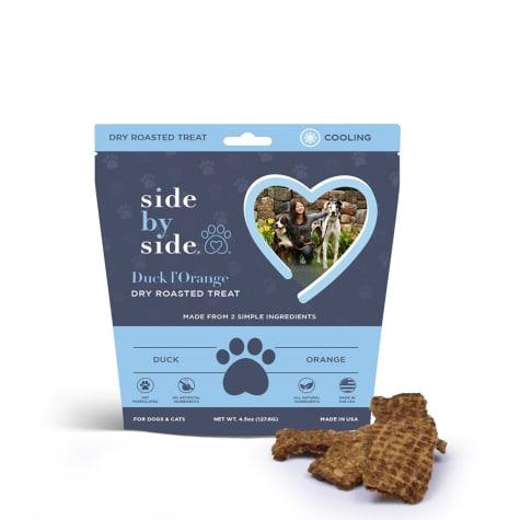 Side by Side Cooling Duck & Orange Recipe Dog Treats