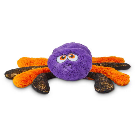 Bootique Creepy Crawly Jumbo Spider Halloween Plush Dog Toy