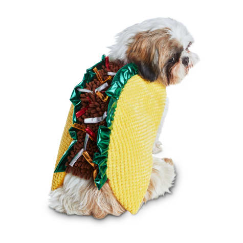 Bootique Tasty Taco Dog Costume