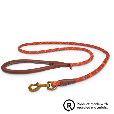 Reddy Rust Plaid Rope Lead Dog Leash