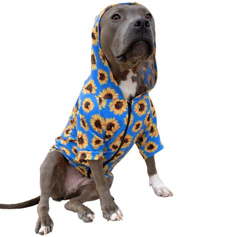 Urban Suburban Apparel Sunflower Dog Zip-Up Hoody