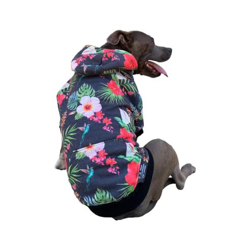 Urban Suburban Apparel Tropical Dog Zip-Up Hoody