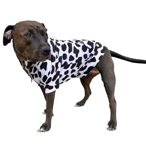Urban Suburban Apparel Moo Dog Zip-Up Hoody