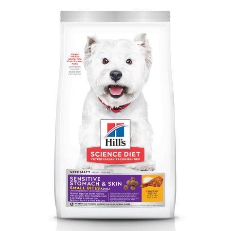 Hill's Science Diet Adult Sensitive Stomach & Skin Small Bites Chicken Recipe Dry Dog Food