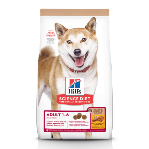 Hill's Science Diet Adult No Corn, Wheat or Soy Chicken Dry Dog Food