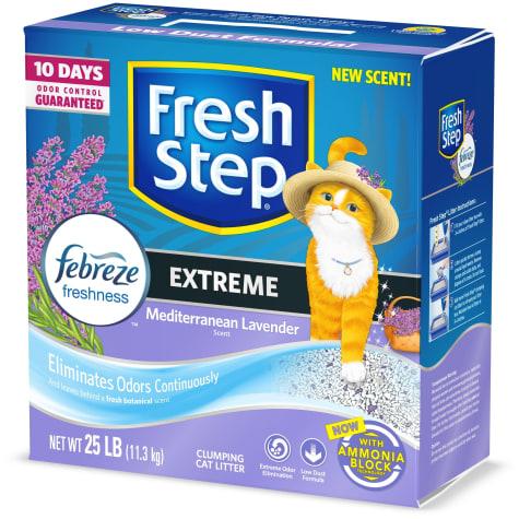 Fresh Step Extreme Odor Control Mediterranean Lavender Scent Cat Litter