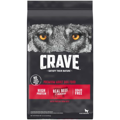 Crave Grain Free Protein Beef Adult Dry Dog Food