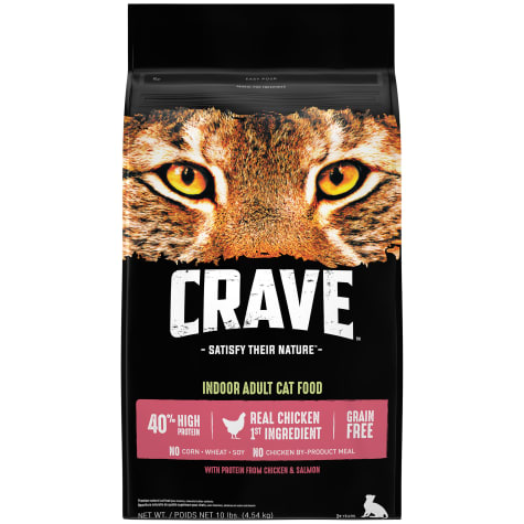 Crave Grain Free Protein Chicken & Salmon Adult Dry Cat Food