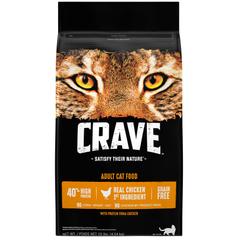 Crave Grain Free Protein Chicken Adult Dry Cat Food