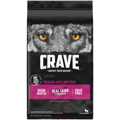 Crave Grain Free Protein Lamb & Venison Adult Dry Dog Food