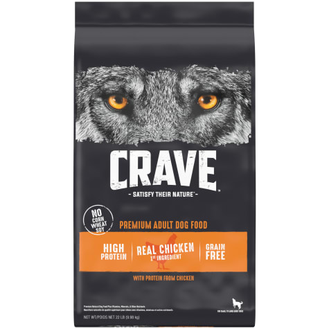 Crave Grain Free Protein Chicken Adult Dry Dog Food