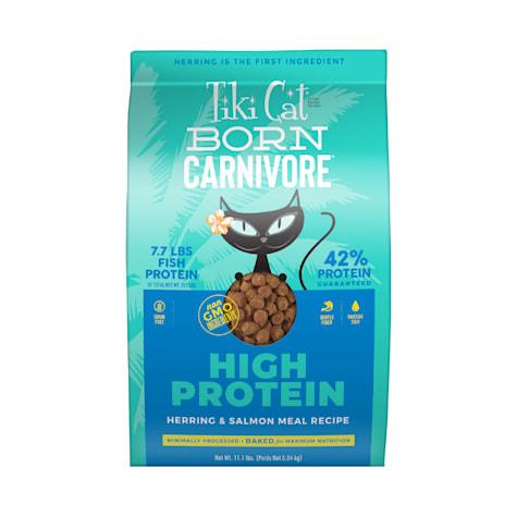 Tiki Cat Born Carnivore Herring & Salmon Dry Food