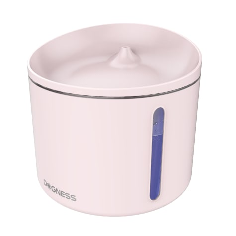 Dogness Pink Mini Water Fountain For Dogs