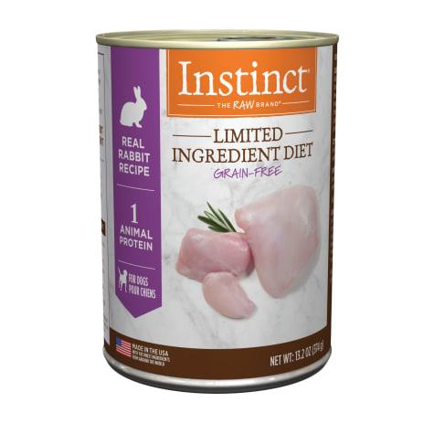 Instinct Limited Ingredient Diet Grain-Free Real Rabbit Recipe Wet Dog Food