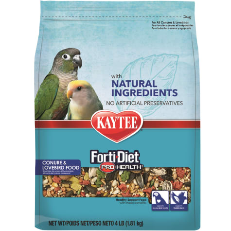 Kaytee Forti-Diet Pro Health with Natural Colors Conure and Lovebird Food