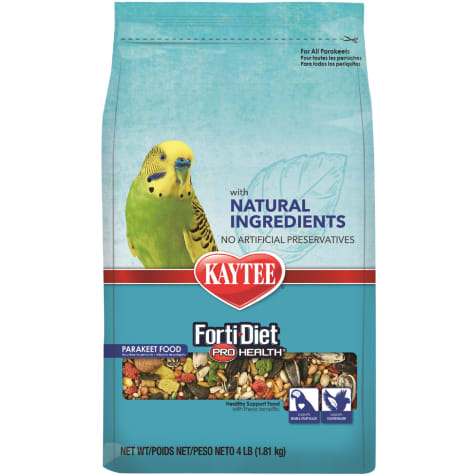 what is forti diet for parakeet