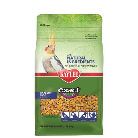 Kaytee Exact Fusion with Natural Colors Cockatiel Food