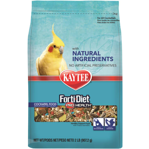 Kaytee Forti-Diet Pro Health with Natural Colors Cockatiel Food