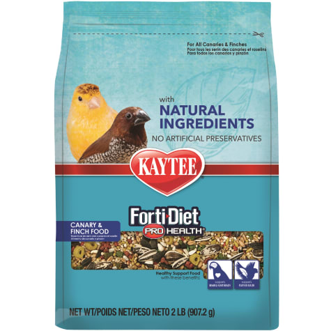 Kaytee Forti-Diet Pro Health with Natural Colors Canary and Finch Food