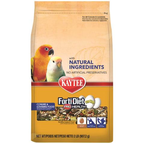 Kaytee Forti-Diet Pro Health Natural Eggcite Conure Food