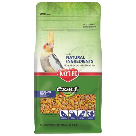Kaytee Exact Rainbow with Natural Colors Cockatiel Food