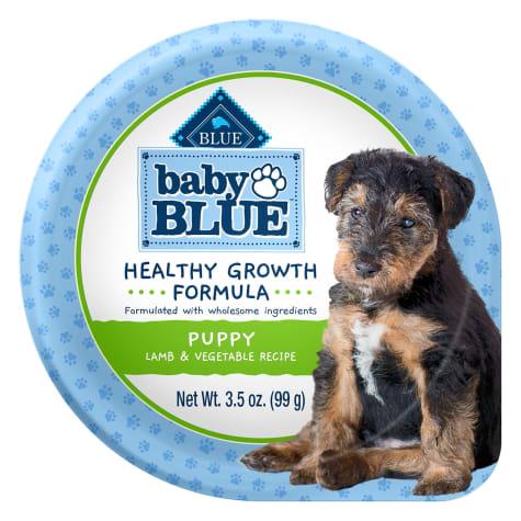 Blue Buffalo Baby Blue Healthy Growth Formula Natural Lamb & Vegetable Recipe Wet Puppy Food