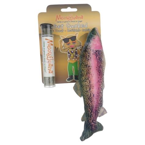 Meowijuana Refillable Get Smoked Catnip Fish Cat Toy