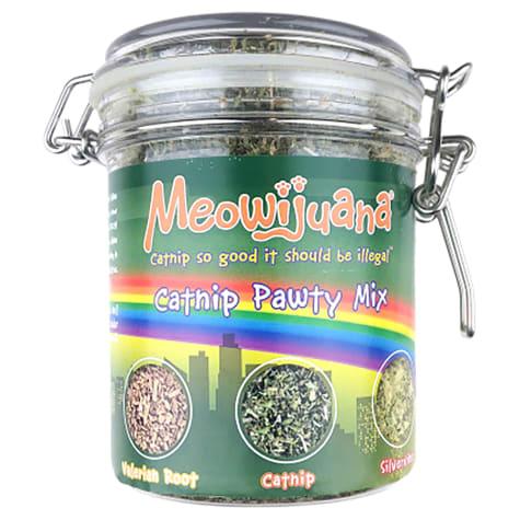 Meowijuana Catnip Pawty Mix for Cats