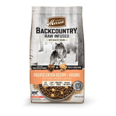 Merrick Backcountry High Protein Freeze-Dried Pacific Catch Recipe Dry Dog Food