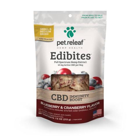 Pet Releaf Crunchy Edibites Blueberry & Cranberry Flavor for Dogs
