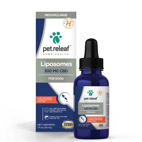 Pet Releaf Liposome Hemp Oil 300 MG CBD for Dogs