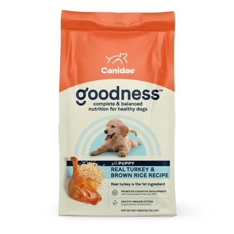 CANIDAE Turkey & Brown Rice Dry Puppy Food
