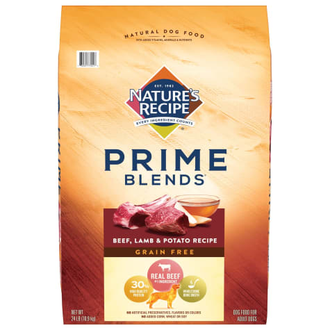 Nature's Recipe Prime Blends Grain Free Beef, Lamb and Potato Recipe Dry Dog Food