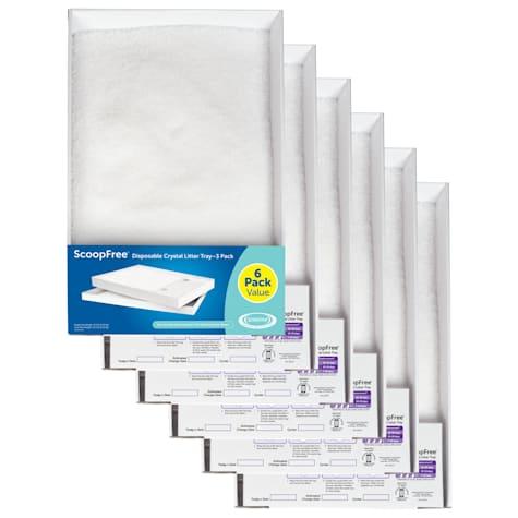 PetSafe ScoopFree Sensitive Disposable Crystal Cat Litter Tray