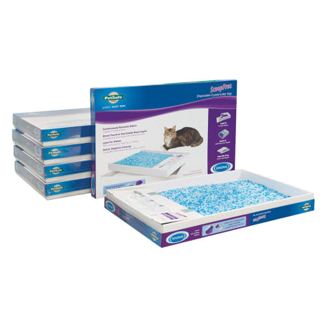 PetSafe ScoopFree Premium Blue Disposable Crystal Cat Litter Tray