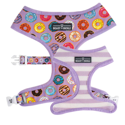 Beast & Buckle Donuts! Reversible Dog Harness