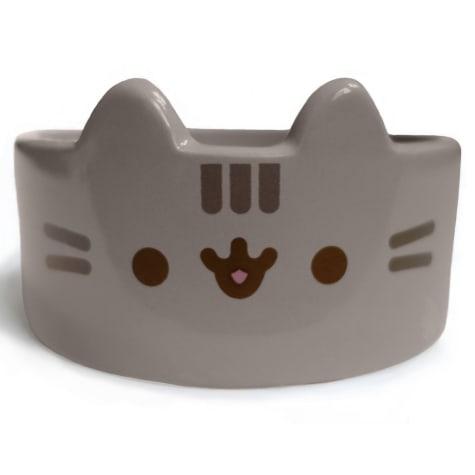 Pusheen Ceramic Molded Pet Mini Food Bowl