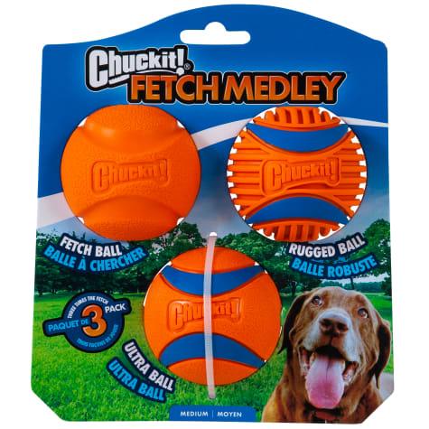 Chuckit! Fetch Medley Gen 3 Dog Toys