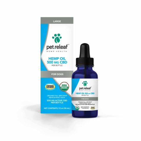 Pet Releaf Hemp Oil 1700 for Dogs
