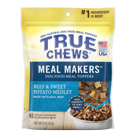 True Chews Meal Makers Beef and Sweet Potato Medley Dog Treat