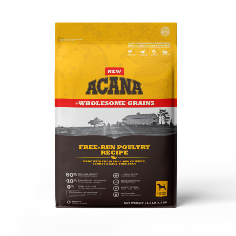 ACANA Wholeome Grains Poultry Dry Dog Food