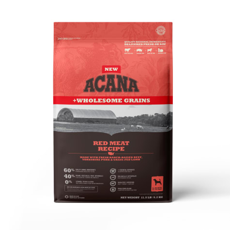 ACANA Wholesome Grains Red Meat Dry Dog Food
