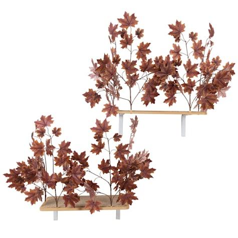 On2Pets Plum Autumn Rectangle Cat Canopy Shelves